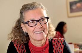 La déléguée à l'intégration Katja Blanc est reconnaissante de pouvoir compter sur ses émissaires sur le terrain. ©Michel Duperrex