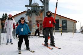 On skie aux Rasses!