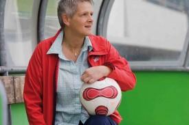 Linda Vialatte, présidente du seul et unique club romand en LNA féminine, le yeux rivés sur la finale de demain.