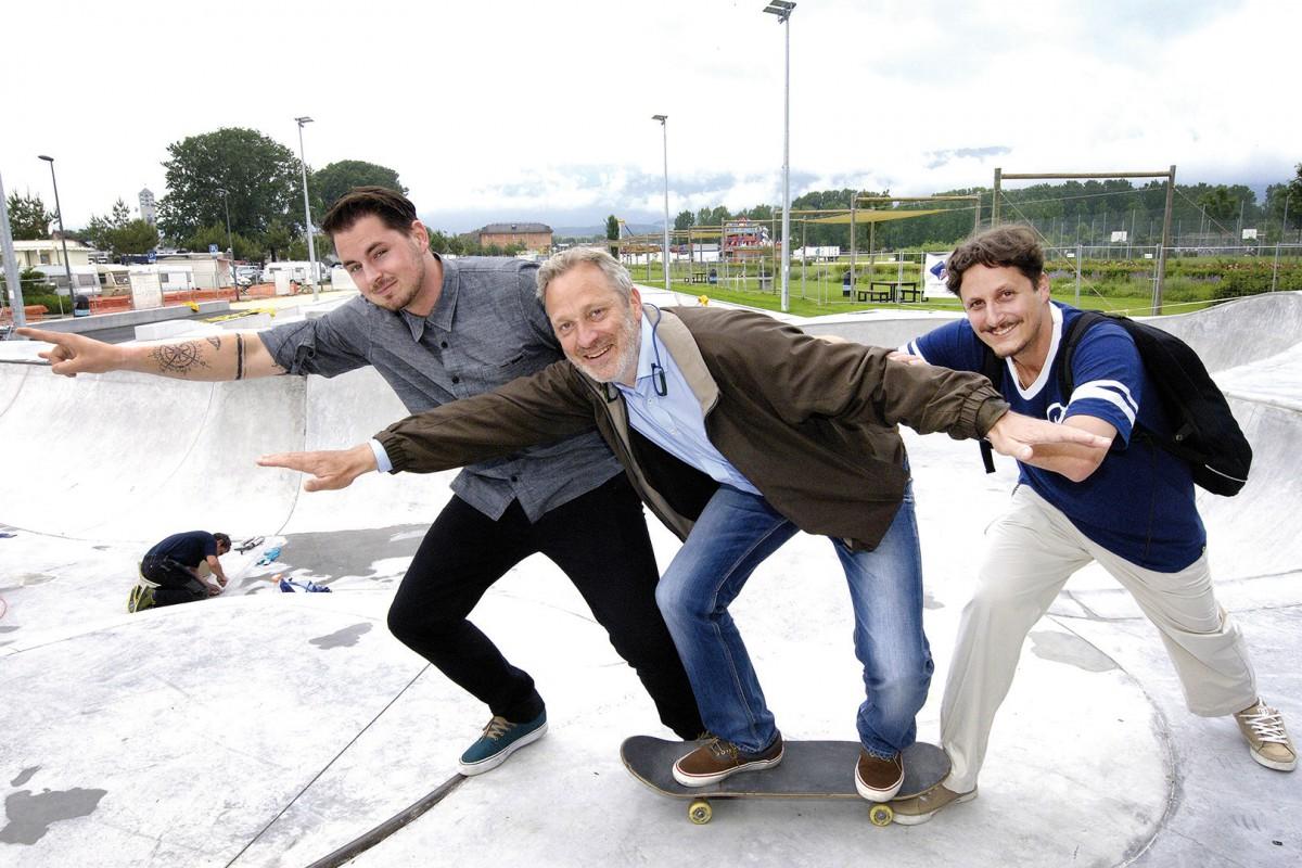 Un skatepark de rêve prêt à être inauguré
