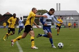 Mikael Duperret (à droite) va retrouver le terrain du FC Valmont, où il a joué de 2004 à 2006. Le but? Se maintenir en 1re ligue avec le FC Baulmes!