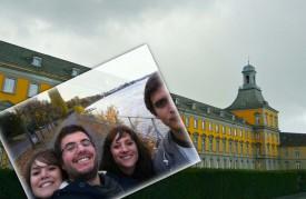 Pedro Pina Pereira (au centre) a fait une année de médecine à Bonn.