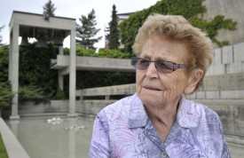 La perspective de la retraite est une source de vive émotion pour Marie-Louise Massonnet.