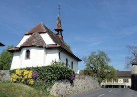 L'église de Chamblon. ©Michel Duperrex