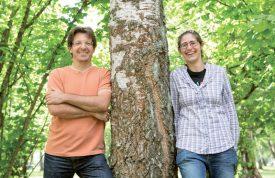 Olivier Ertz et Sarah Composto, deux des protagonistes du projet. ©Simon Gabioud