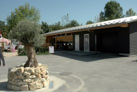 Le Camping de La Menthue dispose de sanitaires flambant neufs. ©Isidore Raposo