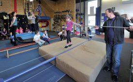 L'Ecole de cirque donne quatorze cours ordinaires par semaine. ©Duperrex-a