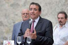 Le conseiller d'État Pascal Broulis a insisté sur l'importance des médias dans le bon fonctionnement d'une démocratie. ©Carole Alkabes