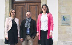 De g. À dr: Line Dépraz, Paolo Mariani, et Myriam Karlström. ©OIC – EERV/Gérard Jaton