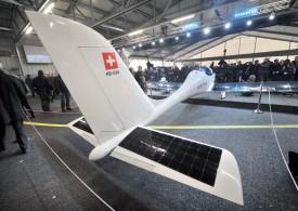 Le projet SolarStratos a été dévoilé, hier, à l'Aéropôle payernois. ©Michel Duperrex