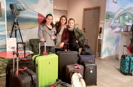 De g. À dr.: Clélia Spycher, Laura Di Pietrantonio et Marie Pasquali. ©DR