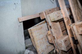 L'endroit où aurait été retrouvé le corps de la défunte. ©La Région