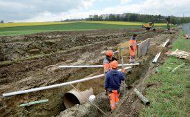 Les travaux permettront une meilleure protection contre les crues. ©Michel Duperrex