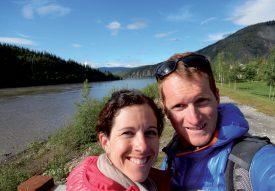 Cette photo du couple a été prise dans la région canadienne du Yukon. ©BenTess Schnellyss