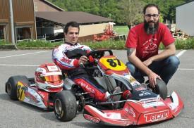 S'ils ont commencé la compétition sur le tard, Nicolas Viva (à g.) et Marc Perusset roulent ensemble, pour le plaisir, depuis 2002. © Michel Duperrex