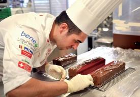 Jorge Cardoso est le spécialiste en chocolat de l'équipe. ©Michel Duperrex