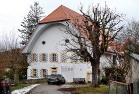 La cure de Donneloye a été construite en 1712 par Gaspard Martin. ©Michel Duperrex