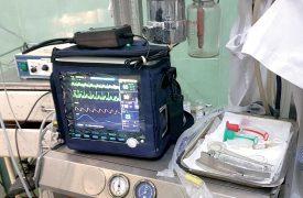 L'hôpital manquait cruellement d'un monitoring de surveillance cardiaque. ©DR