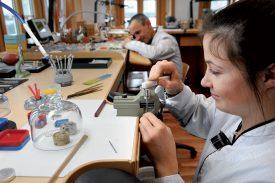 Les futurs visiteurs pourront admirer le savoir-faire horloger de la manufacture. ©Michel Duperrex