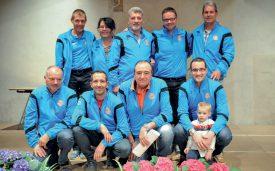 Pétanque yverdonnoise: l'Equipe B, championne vaudoise en 1re ligue. ©Carole Alkabes