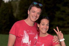 Julien Gander et Caroline Glauser ont passé quatre jours des plus sportifs. ©Eric Chappuis