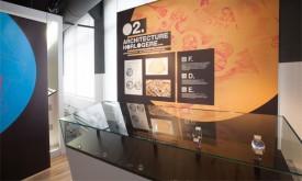 L'exposition temporaire présente le design et l'horlogerie à la vallée de Joux. © Espace Horloger