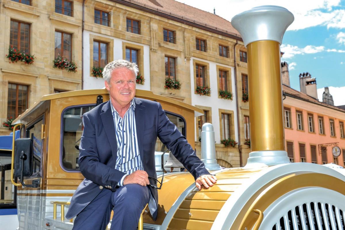 Parcourir la ville dans le bon wagon