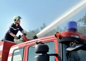 Le tonne-pompe 6000, le plus gros véhicule du genre à disposition des pompiers. ©Michel Duperrex