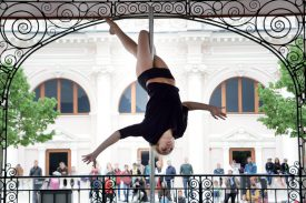 Janis Mouquin d'Excel Danse. ©Michel Duperrex