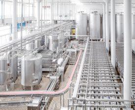 La fromagerie de Villars-sur-Glâne (FR) est l'un des cinq sites de production de l'entreprise Cremo. Quelque 3500 producteurs des cantons de Fribourg, Vaud, Valais, Berne, Neuchâtel et du Jura sont, aujourd'hui, affiliés au transformateur fribourgeois. ©Simon Gabioud