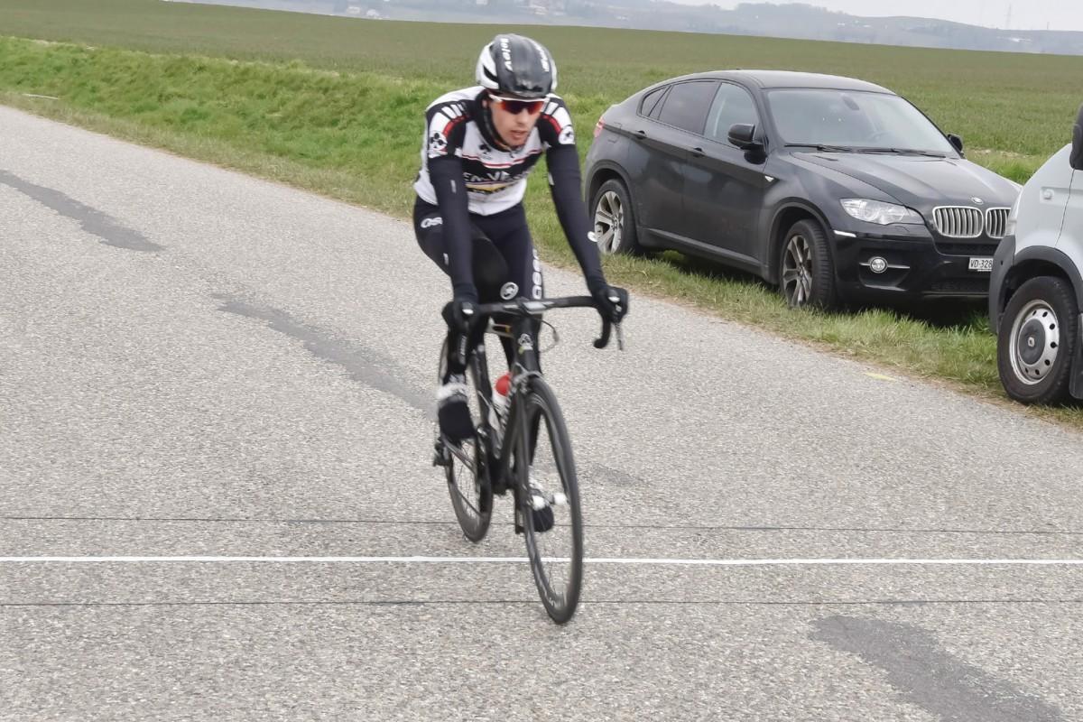 Cyrille Thièry a remporté la 1re étape du Giron