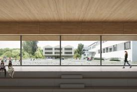 Le projet «Toi mon toit», du groupement d'architectes Transversal Architectes et Suter Sauthier et associés, est le lauréat. DR
