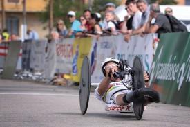 Heinz Frei, légende du sporthandicap helvétique, a glané une belle deuxième place. © Nadine Jacquet