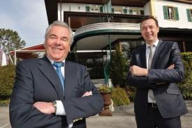 Jean-Claude Vagnières et Serge Krivokapic ont convenu de mettre fin à leur collaboration. © Duperrex -a