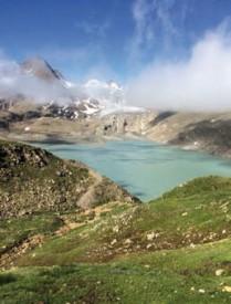 ... dont ceux du Griespass, entre la Suisse et l'Italie. DR