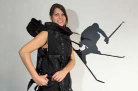 Le sac à dos peut se transformer... © Michel Duperrex