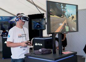 Yves Bolognini a testé la réalité augmentée avec le système Playstation VR. Une immersion audio et visuelle. ©Gabriel Lado