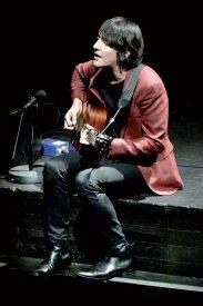 Le chanteur valaisan Marc Aymon a présenté un titre de son dernier album intitulé «Ô bel été». ©Michel Duperrex