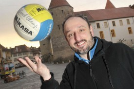 Kevin Harnischberg croit au potentiel de l'équipe fanion yverdonnoise. © Michel Duperrex