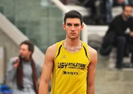 Loïc Gasch n'est pas seulement un sauteur en hauteur, mais aussi un coureur d'excellent niveau. © Alkabes -a