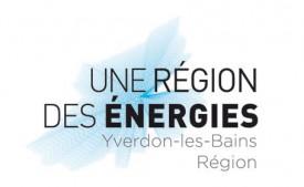Le logo représente les contours géographiques d'Yverdon-les-Bains Région. DR