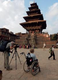 Le temple Nayatapola, à Bhaktapur. ©Patrick Genaine