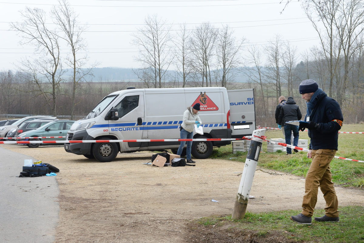Trois Suisses sous les verrous après l'attaque à main armée d'un fourgon blindé en 2018