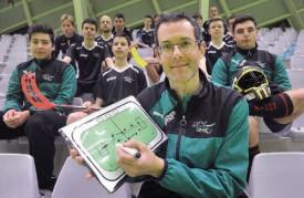 La philosophie et les connaissances tactiques du nouvel entraîneur Yvan Cuennet font un carton à l'UCY. © Michel Duperrex