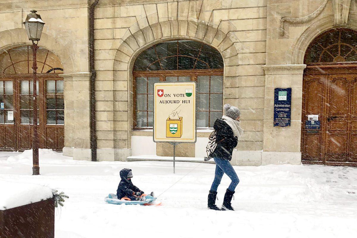 La neige ne fait pas que des heureux dans la Cité thermale et ses alentours
