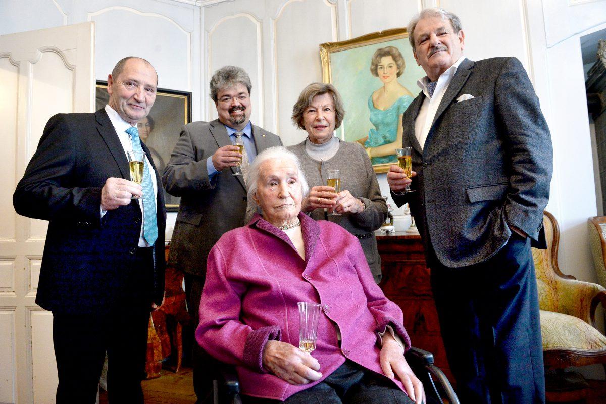 La doyenne du canton fête ses 108 ans