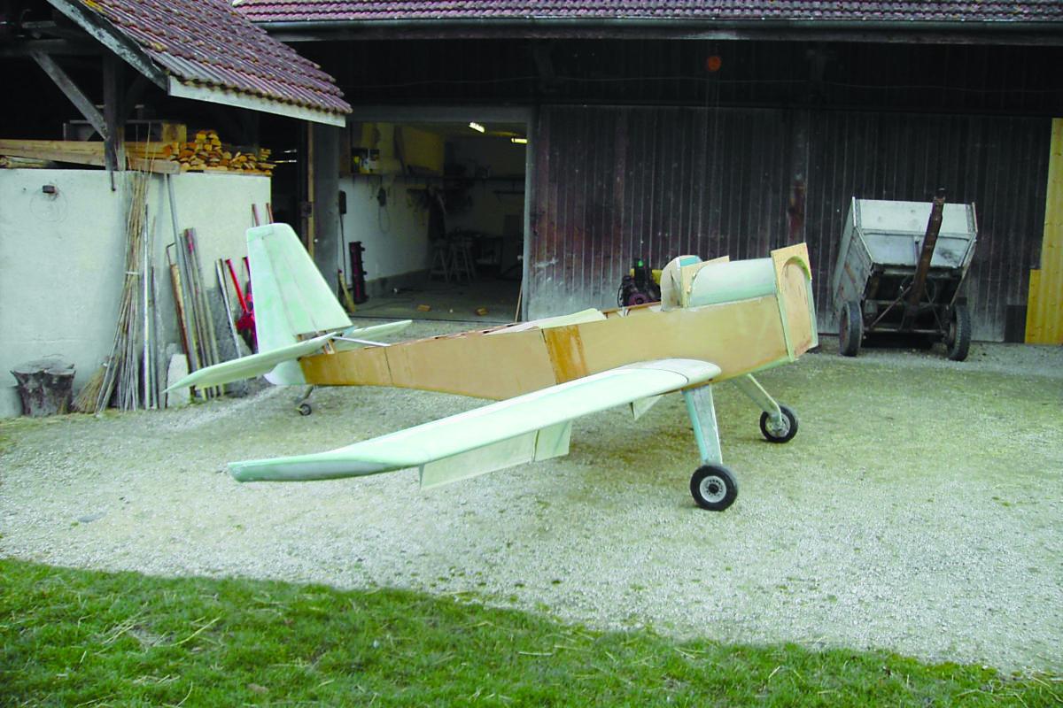 «C'est un avion unique au monde»