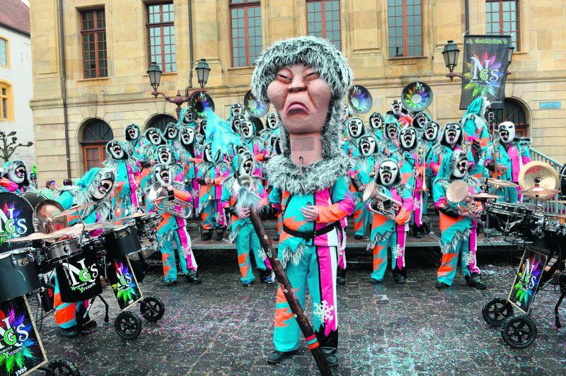 La Niouguen's dans ses nouveaux costumes. © Michel Duperrex