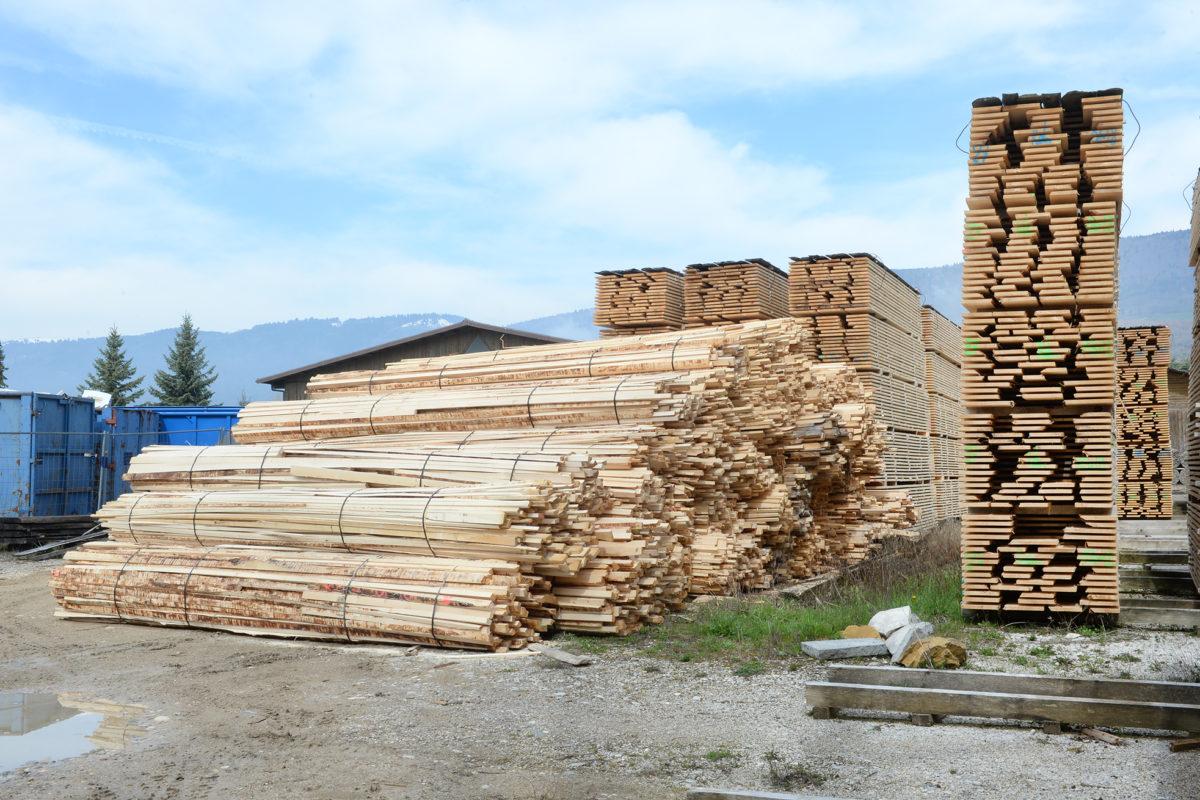 Soutien pour la filière locale du bois