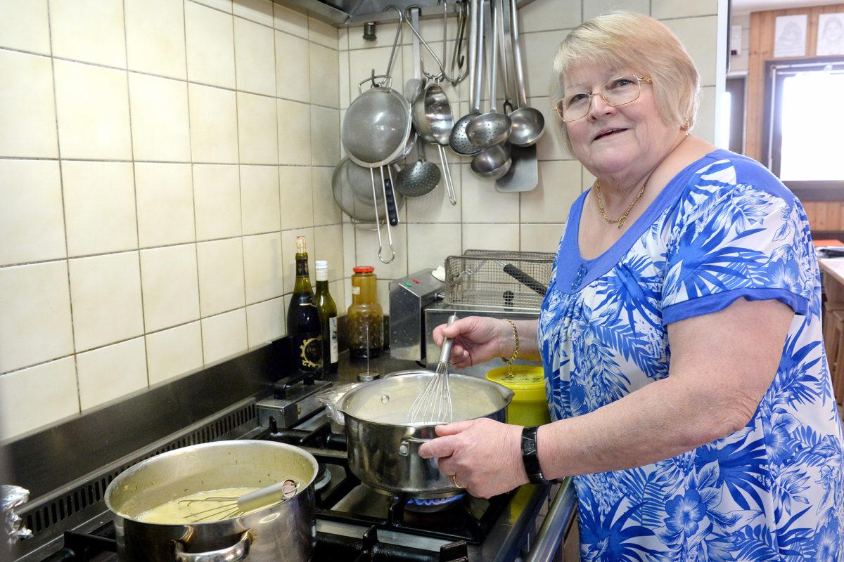 L'irréductible Liliane Milliet cuisine encore et toujours